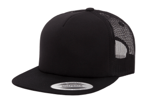 Flex Fit Trucker Mesh Cap Black
