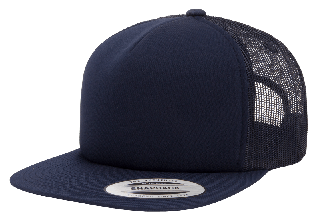 Flex Fit Trucker Mesh Cap Navy