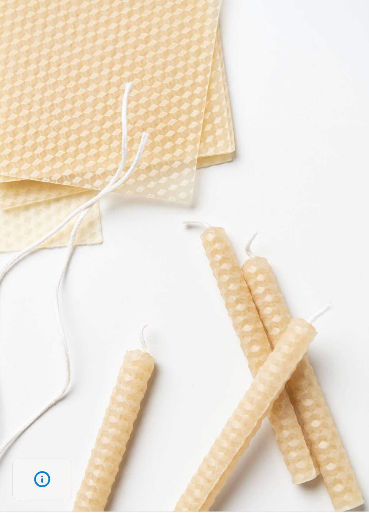 eco-kids Beeswax Candle Making Kit  *NEW*