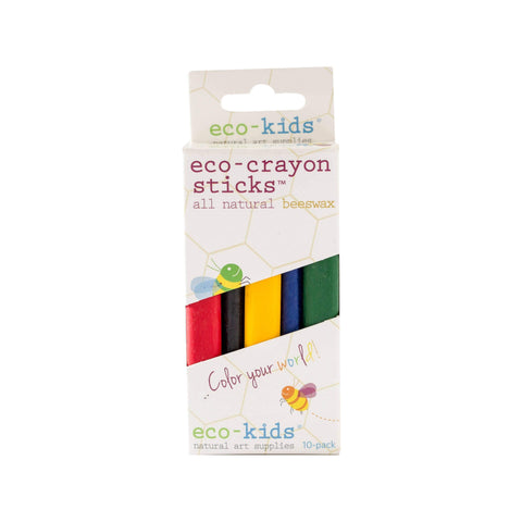 eco-kids eco-crayon sticks - 5 pack  *NEW*
