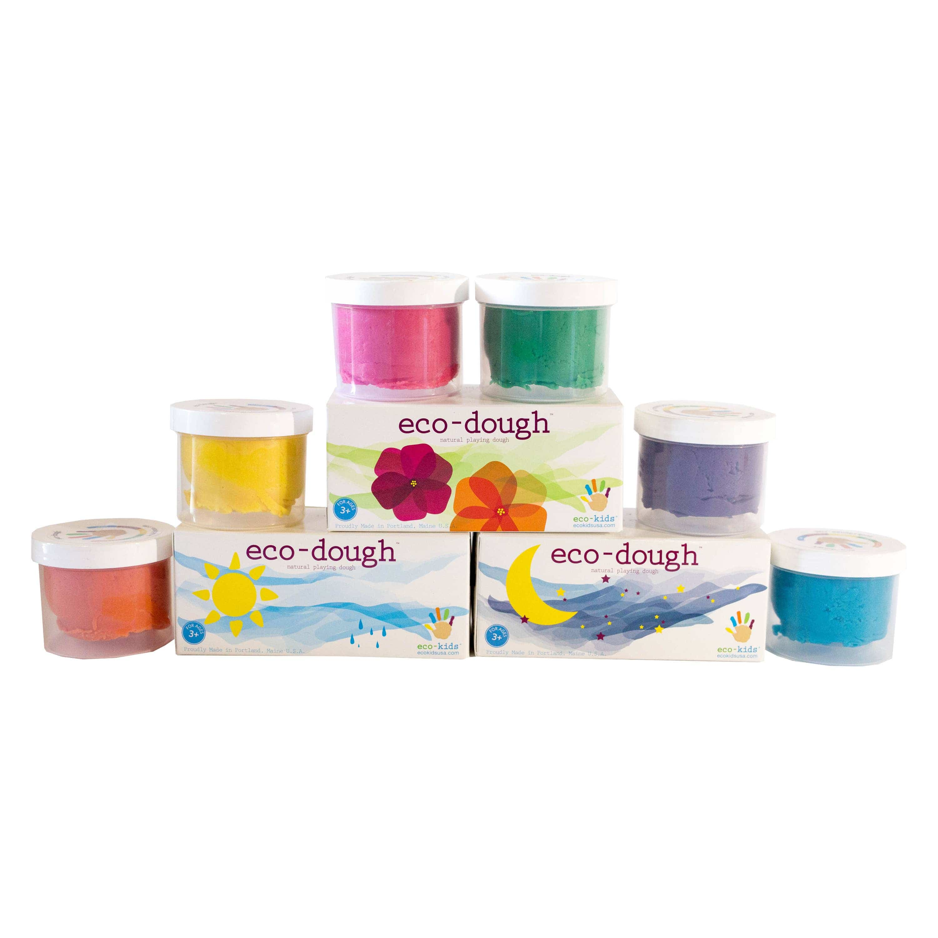 eco-kids eco-dough 2 pack Assorted  *NEW*