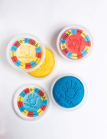 eco-kids eco-dough 3 pack *NEW* from eco-kids