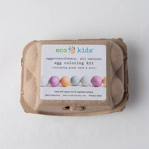 eco-kids eco-kids egg coloring kit *NEW*