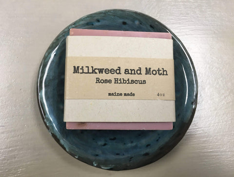 Minnows Childhood Goods Rose Hibiscus Bar Soap
