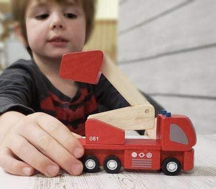 PlanToys PlanToys Wooden Fire Engine  **NEW**