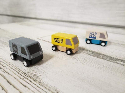PlanToys Toys PlanToys Delivery Vans  *New*