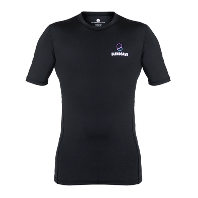 Short Sleeve Floorball Compression Shirt