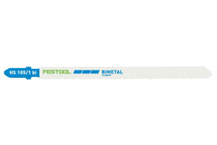 Festool 204272 HS105/1BI/5 Jigsaw Blade (Metal-Steel & Stainless Steel) 5-pack