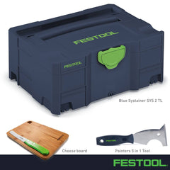 Festool 204534GB Blue SYS 2 Gift Bundle *Limited Edition*