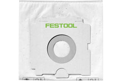Festool 496186 SELFCLEAN Filter Bag for CT 36, Quantity 5