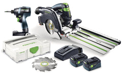Festool 205602 TID18 Impact + HKC55 Carpentry Saw COMBO