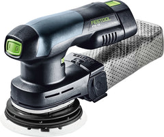 Festool 201531 ETSC 125 Random Orbital Finish Sander Cordless Set
