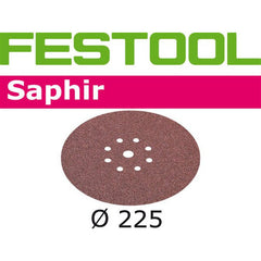 "Sander / Accessories / Abrasives / 225mm (8-1/2"") / Saphir"