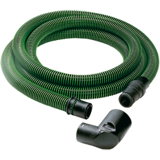 Festool 499742 Anti-Static Hose, Tapered D32/27 with Angle Adapter, 3.5m Long