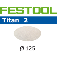 "Festool 492363 Abrasives, 5"" Diameter Titan2 P1200 Grit, 100 Pack"