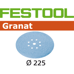 "Sander / Accessories / Abrasives / 225mm (8-1/2"") / Granat"