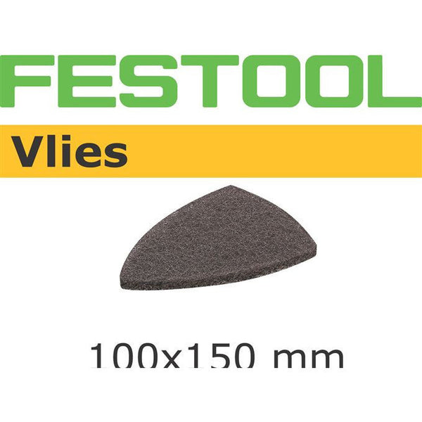 Festool 489045 Abrasives, 100mm x 150mm Vlies A120 Grit, 10 Pack