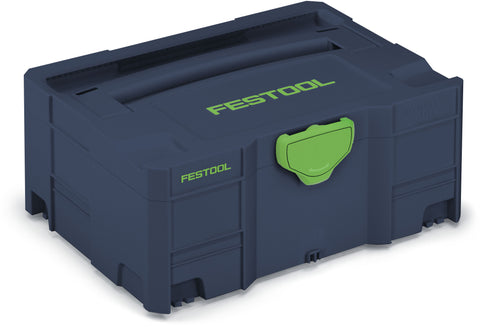 Festool 204534 Blue SYS 2 Empty Systainer *Limited Edition*