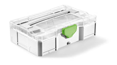 Festool 203813 Mini Systainer T-LOC w/Transparent Lid