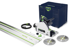 "Festool 576688 TS 55 REQ Plunge Cut Track Saw w/55"" Rail *Emerald Edition*"