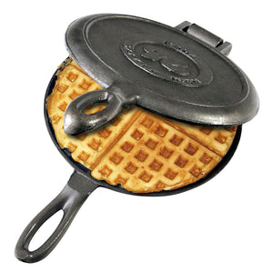 Old Fashioned Cast Iron Waffle Iron - Original By Rome
