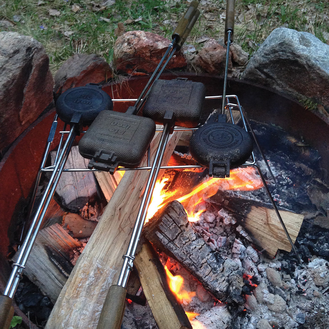 Pie Iron Campfire Stand - Original By Rome