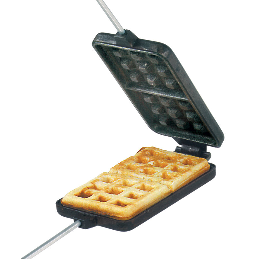 Cast Iron Waffle Pie Iron - Original By Rome
