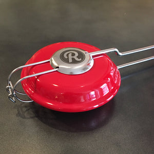 Round Enameled Steel Pie Iron - Original By Rome