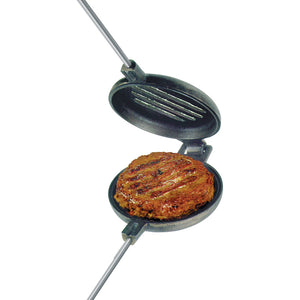 Single Burger Griller Cast Iron - Original By Rome