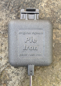 Square Cast Iron Pie Iron - Original By Rome