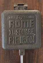 Load image into Gallery viewer, XL Square Cast Iron Pie Iron - Original By Rome