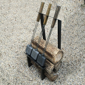 Pie Iron + Firewood Rack - Original By Rome