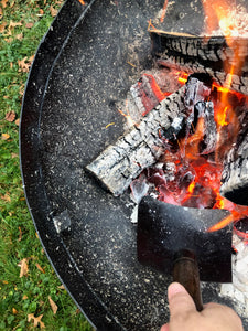 Ash Removal Tool For Firepits Charcoal Grills and Campfire