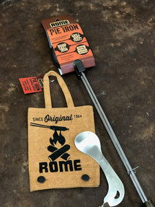 Round Pie Iron Starter Kit - Original By Rome