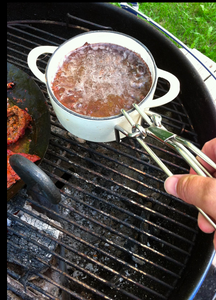 Campfire Pot Lifter - Stainless Steel By Rome - CLOSEOUT