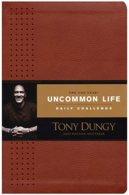 1 Year Uncommon Life Daily Challenge Leathersoft by Tony Dungy