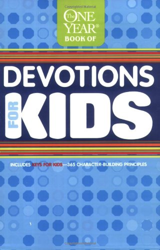 1 Year Book Of Devotions For Kids by Tyndale
