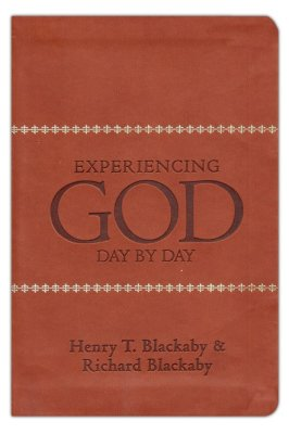 Experiencing God Day by Day Leathertouch Edition by Henry Blackaby