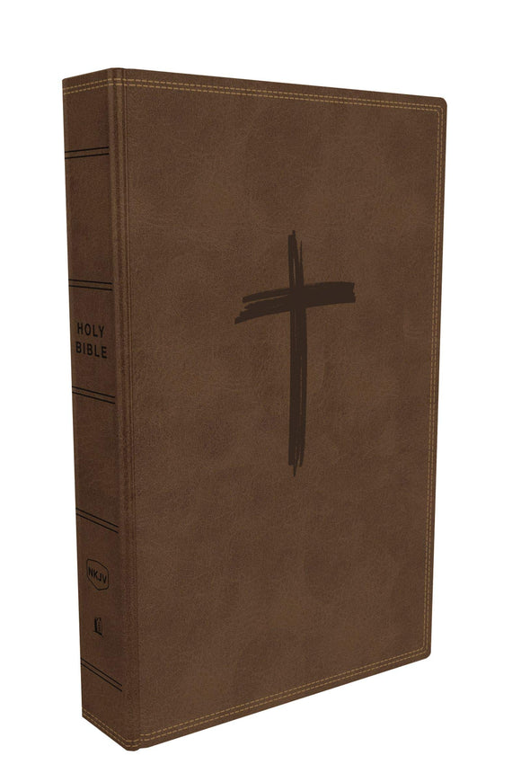 NKJV Holy Bible for Kids Brown Leathersoft by Thomas Nelson
