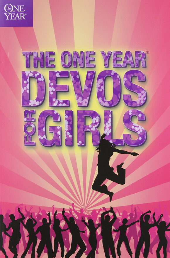 1 Year Book Of Devotions For Girls by Tyndale