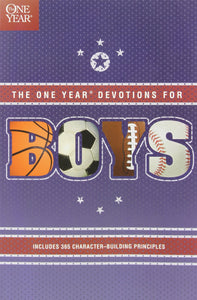 1 Year Book Of Devotions For Boys by Tyndale