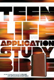 NLT Teen Life Application Study Bible Brown