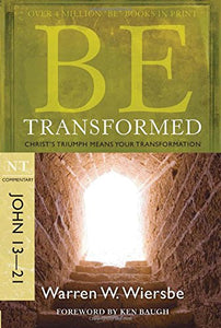 Be Alive : Getting to Know the Living Savior is part of Warren Wiersbe's Be Series commentaries. This volume covers chapters 13-21 of the Gospel of John.