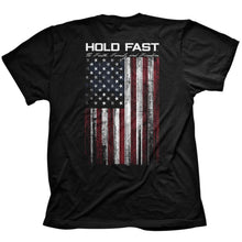 Load image into Gallery viewer, Hold Fast Flag Christian t-shirt by Kerusso. Part of the Hold Fast Collection.