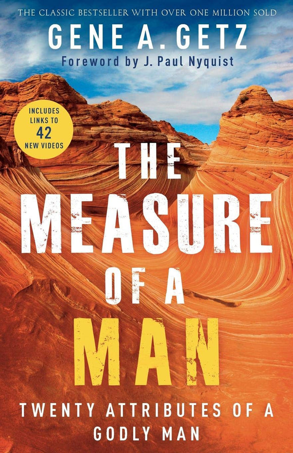 Measure of a Man : Twenty Attributes of a Godly Man by Gene A. Getz is a must read classic for christian men. This edition is newly revised to reach a new generation. Great for individual reading, small groups, or one-on-one discipleship.