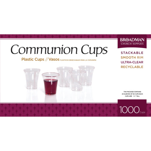 communion cups 1000 count
