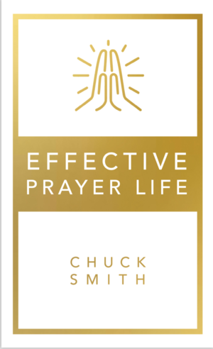 One of Pastor Chuck Smith's most popular books is now back in print! Effective Prayer Life is a powerful book that will teach you how to prayer, and renew in you a passion for prayer.