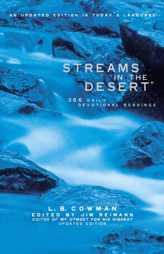 Streams in the Desert Hardcover by L.B. Cowman