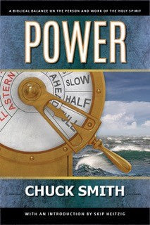 Power : A Biblical Balance on the Person and Work of the Holy Spirit by Pastor Chuck Smith. Originally published as Charisma vs Charismania, this updated reprint now includes an introduction by Skip Heitzig.