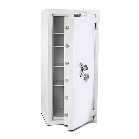 Image of Burton Eurovault Aver Electronic 3 Shelves Pin Code Locking Safe In Uk